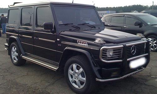 Mercedes Gelandewagenc500
