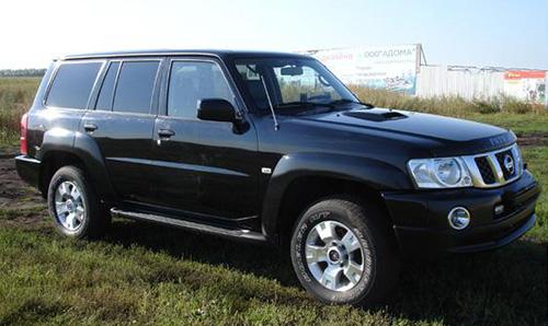 Nissan Patrol b500
